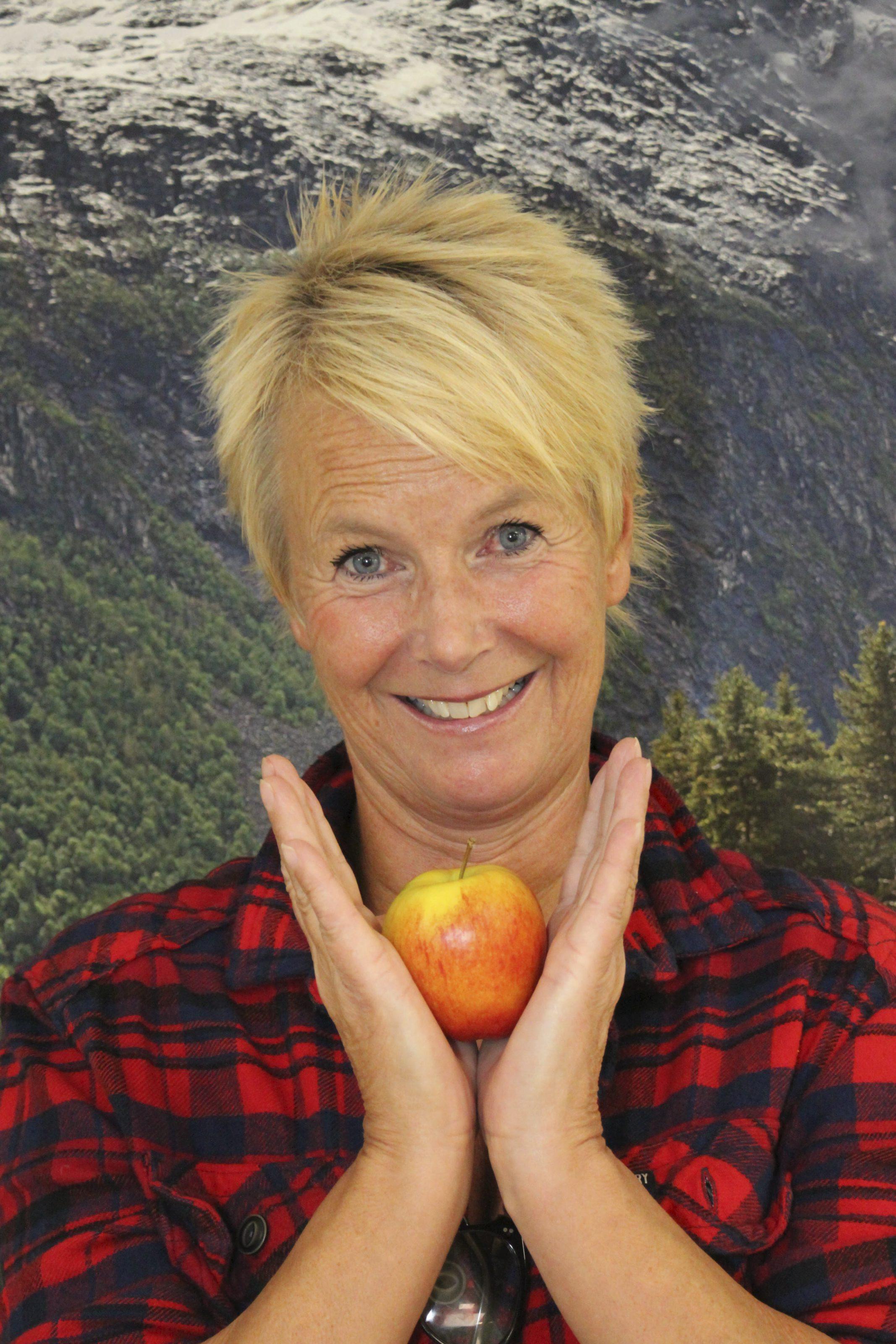 Vinneren av Gulleple Aina Bartmann Foto: Helle Cesilie Berger