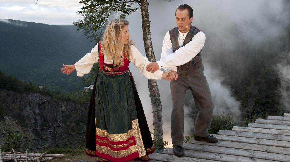 Marispelet på Rjukan
