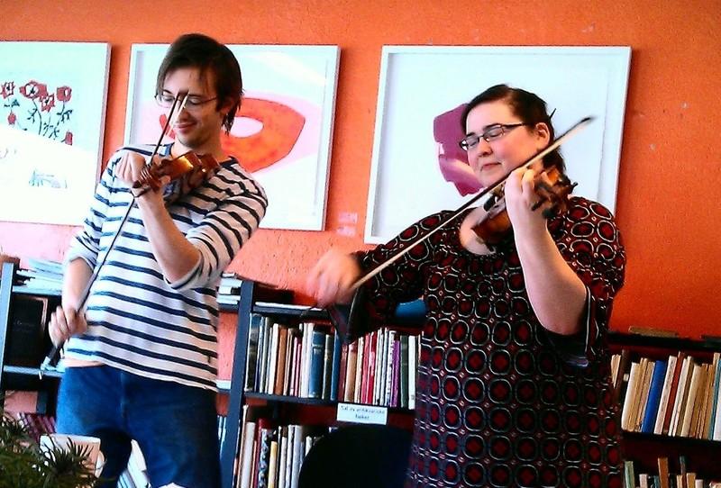Konsert med Ingrid Hamberg og David Rönnlund Foto: ta.no