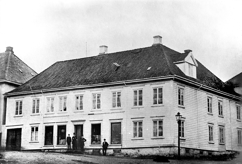 Stockmannsgården, Henrik Ibsens fødested