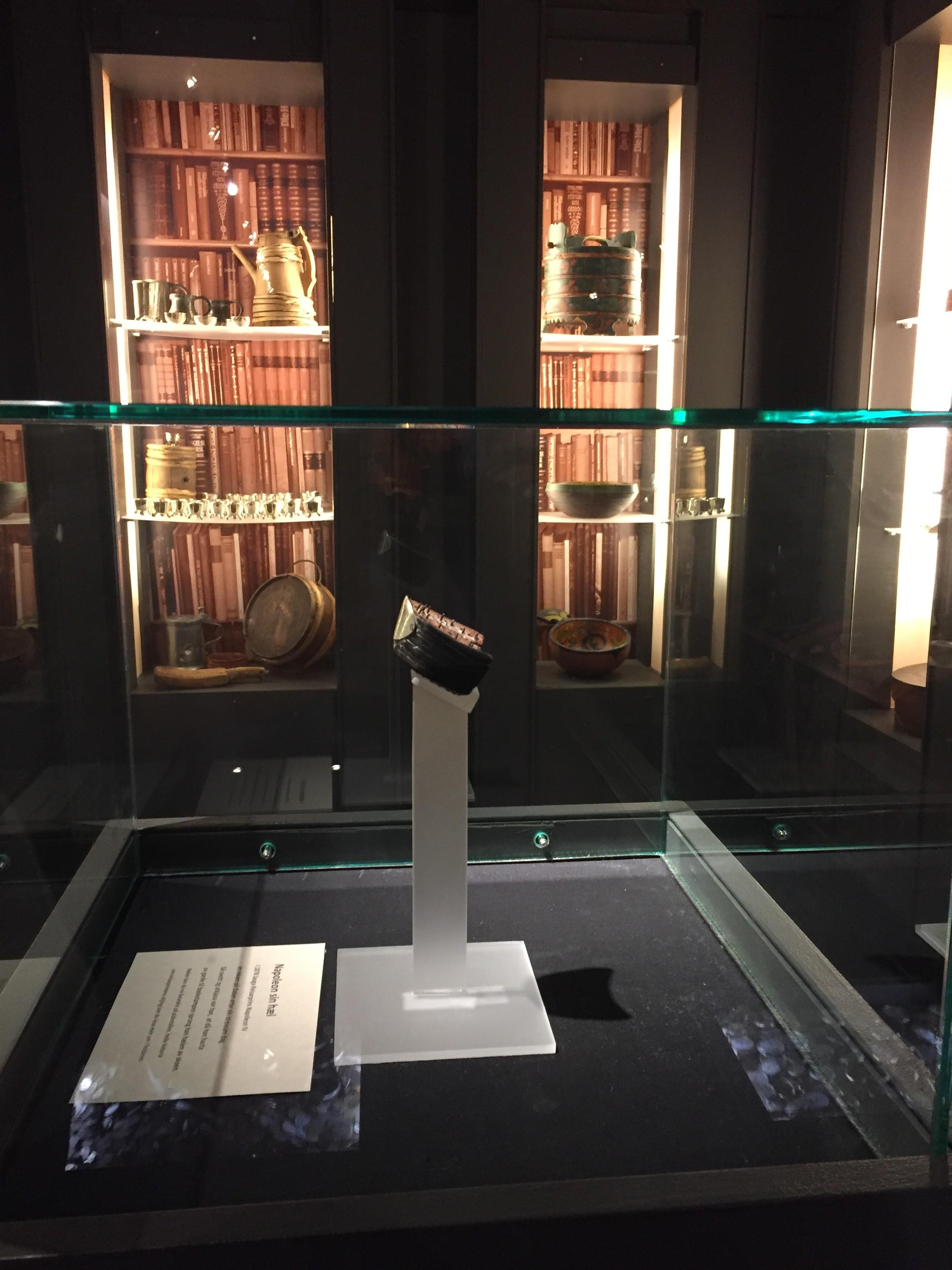 Napoleons hæl er i dag utstilt på Vest- Telemark Museum, Eidsborg