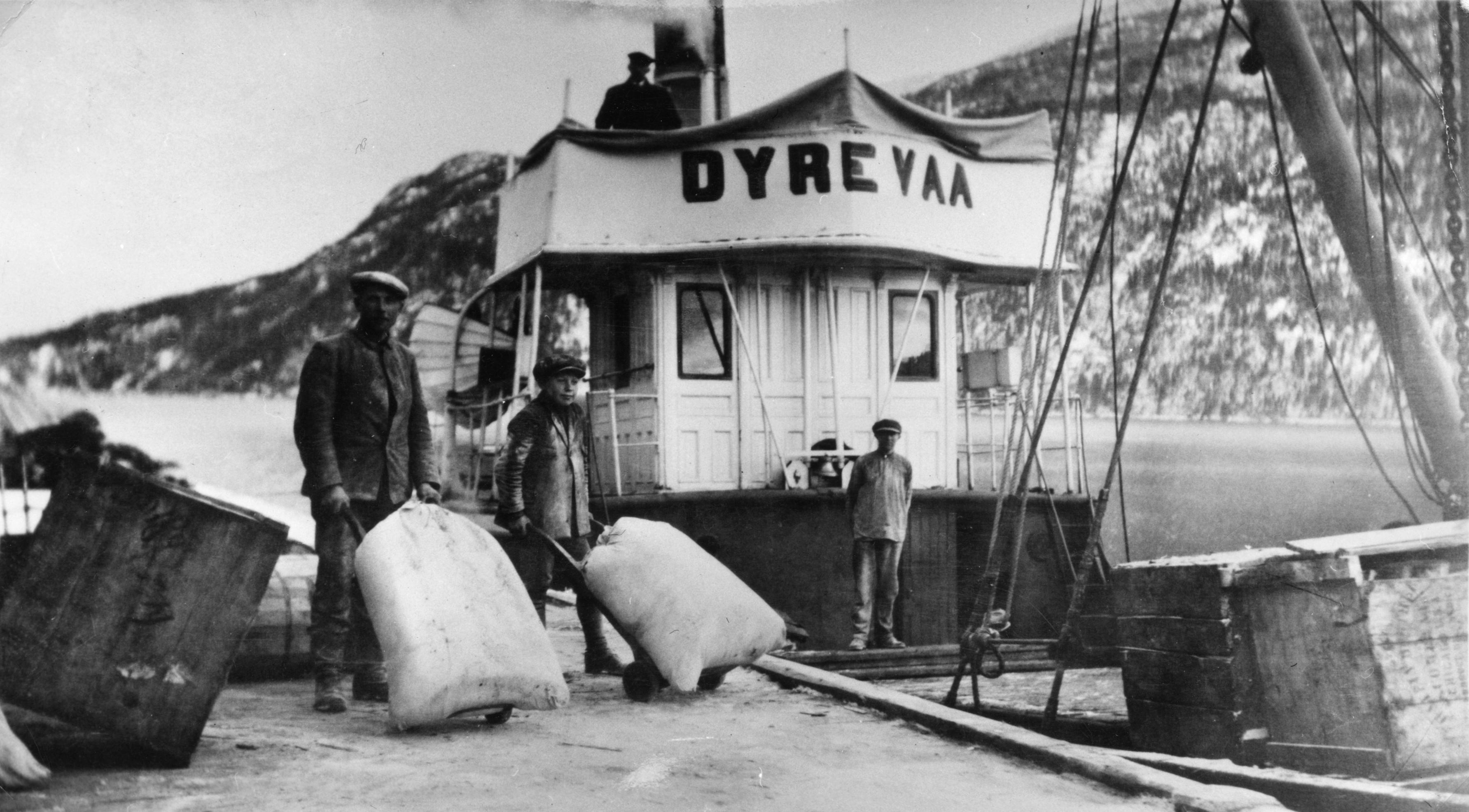 Etter at Bandak-Norsjøkanalen åpnet i 1892, kunne brynestein fraktes direkte fra Dalen til Porsgrunn. Etter hvert ble DS Dyre Vaa satt inn i trafikken og kunne laste 90 tonn. Dette skipet frakta den aller siste brynesteinslasten til Norrøna fabrikker i 1952.