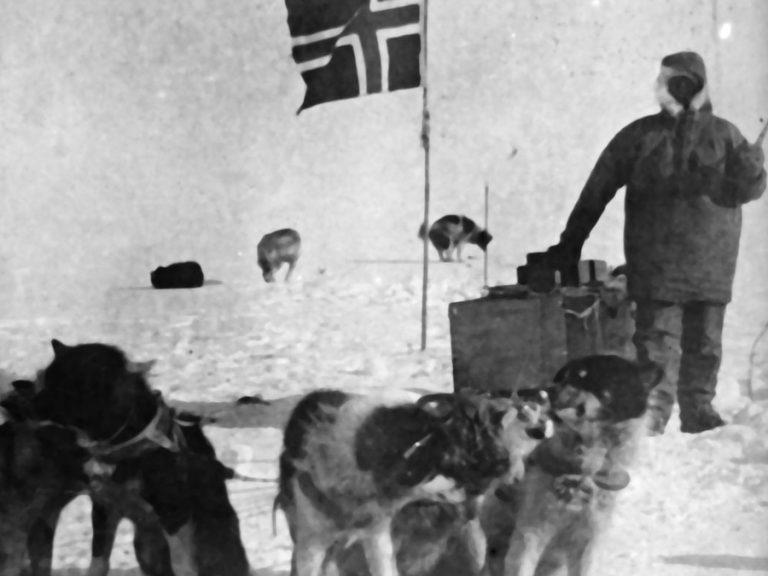 Olav og hundane.