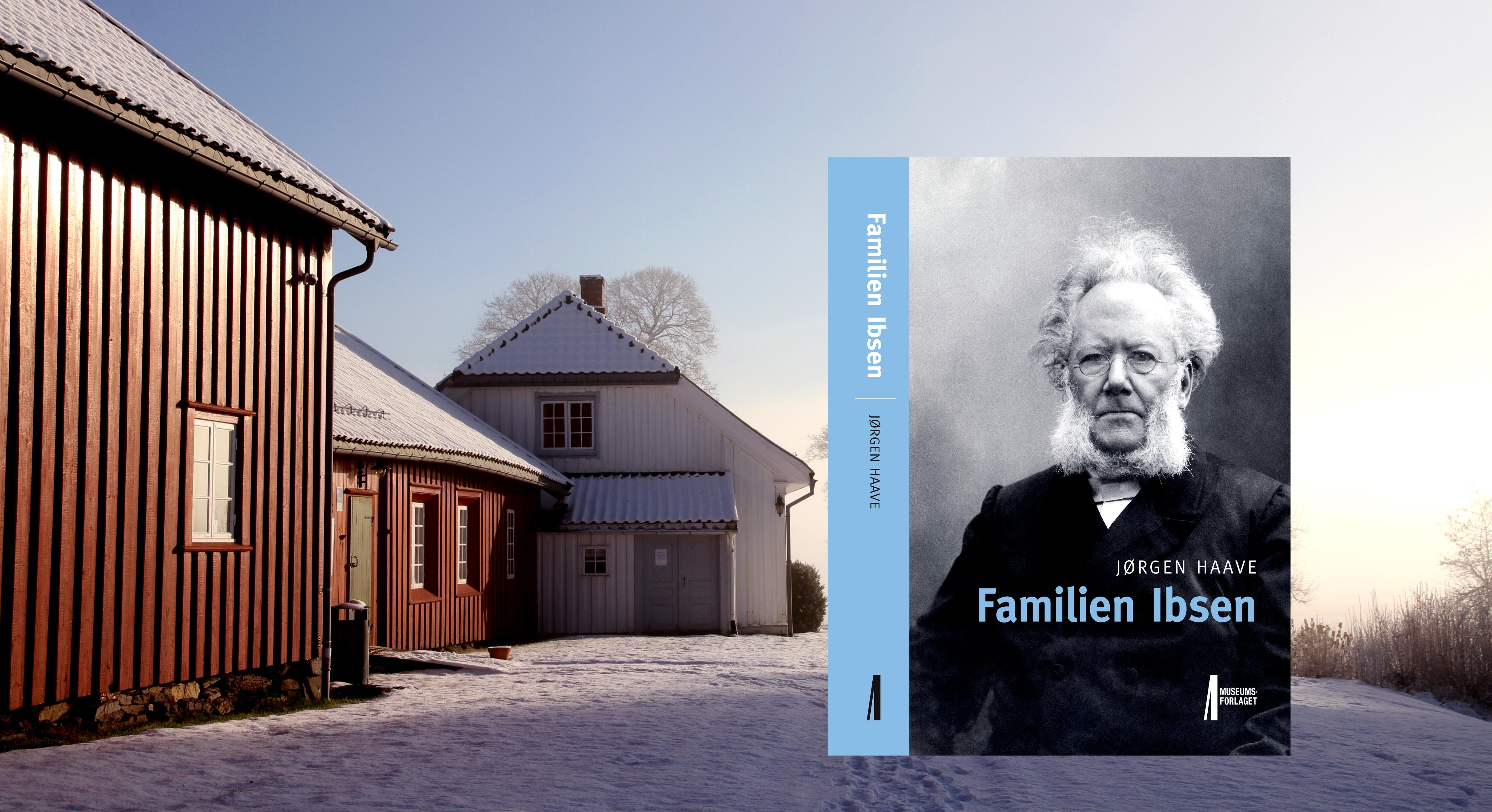 FRA SKIEN TIL VERDEN: Dette blidet av Henrik kjenner vi godt. Hvordan kunne en gutt fra Skien bli en verdenskjent forfatter. I Skien får du brikker til puslespillet Henrik Ibsen.