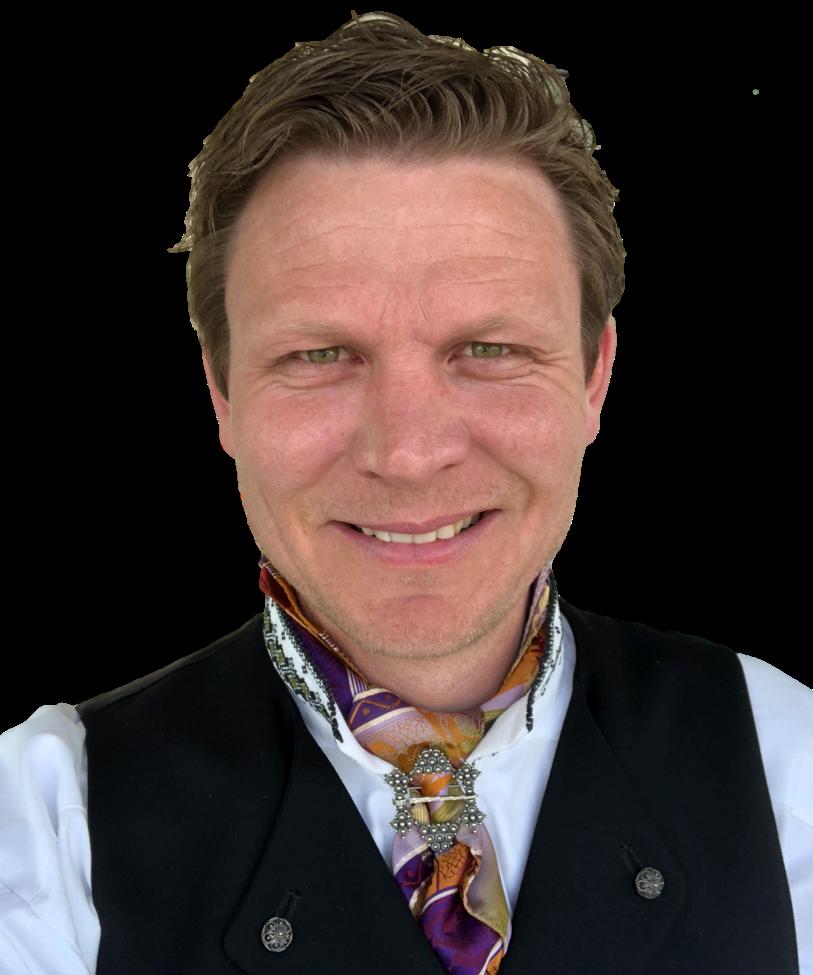 Tormod Hynne (36 år) prosjektleder for TelemarksVeka
