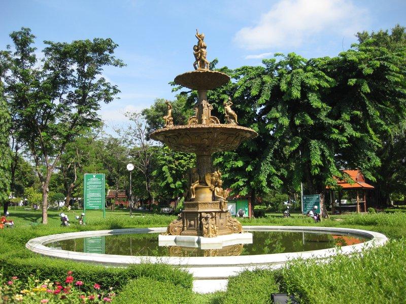 Saranrom Park Bankok