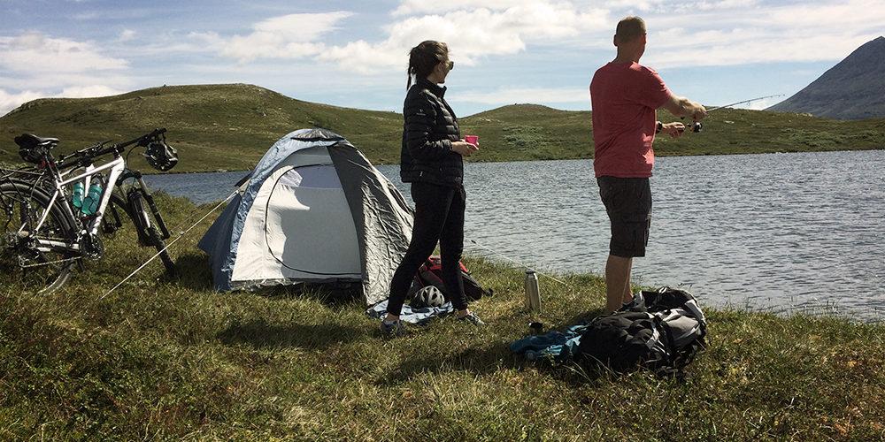 Fiske på Hardangervidda