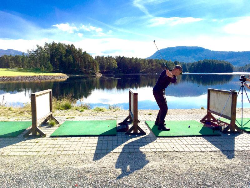 Vrådal golfbane Foto: Flemming H. Tveitan/Fjord Line