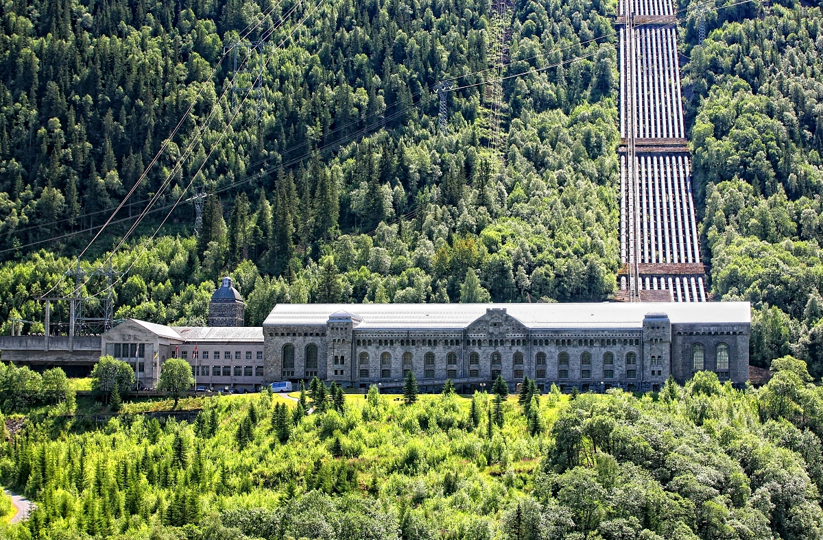 Norsk Industriarbeidermuseum, Vemork Foto: Hans-Dieter Pfleger