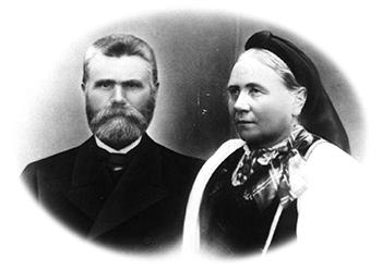 Olav og Kari Straand