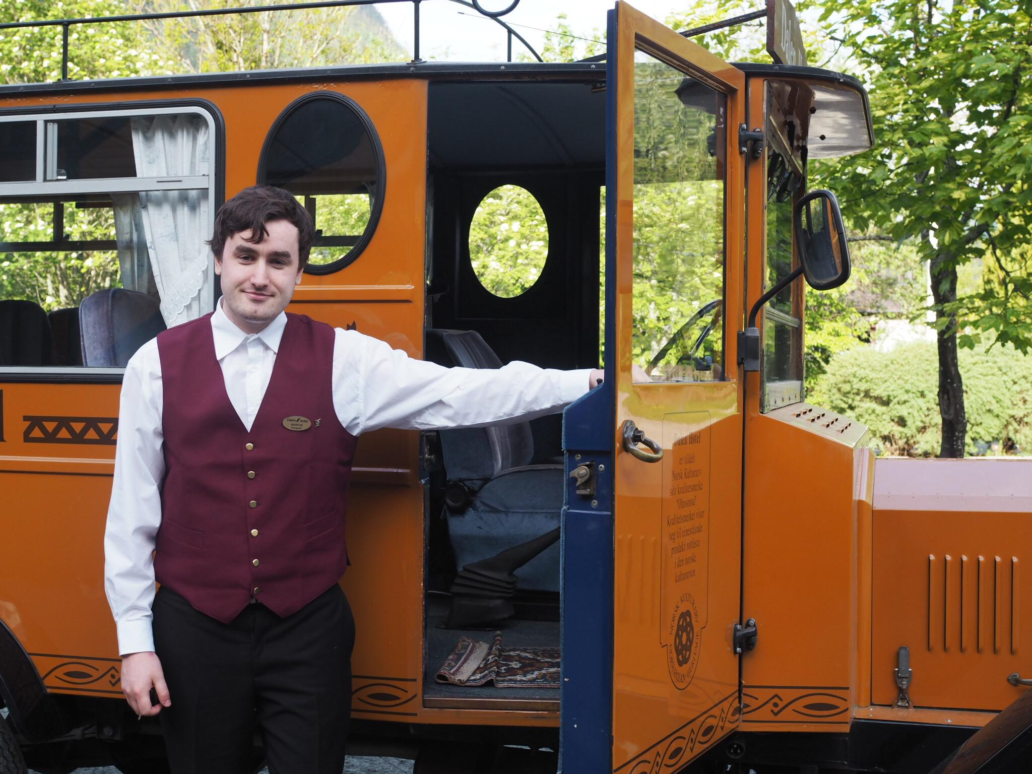 Dalen Hotels buss, Ford Fleur de Lys 1928 modell