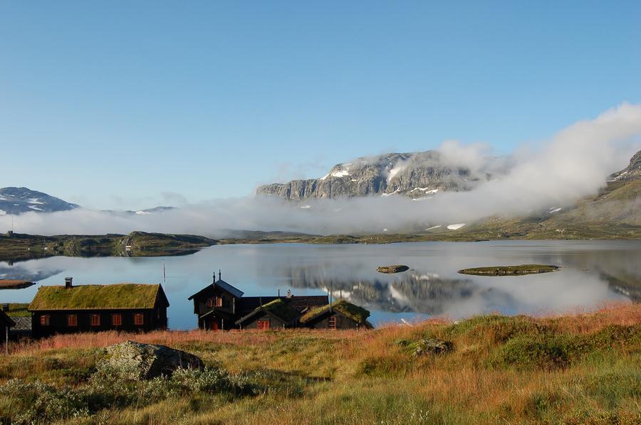 Haukeliseter fjellstue, rett ved Hardangervidda