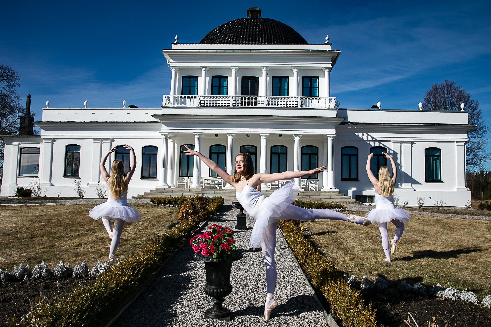 KULTURARENA: Konserter og kultur med klassisk tilsnitt passer godt på Ulefos Hovedgaard.
