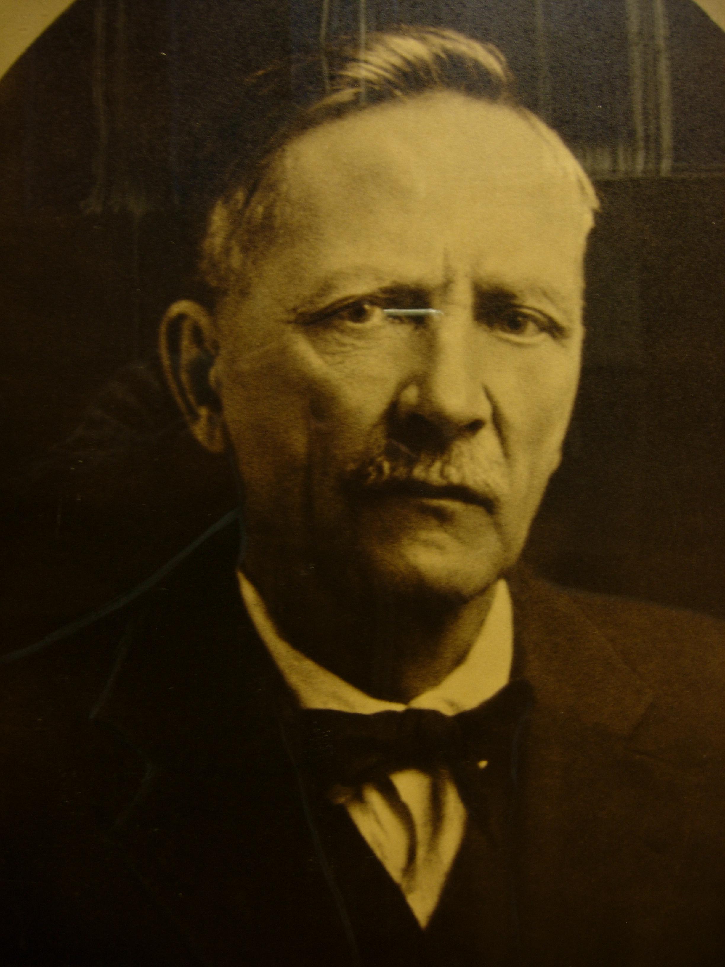 Sondre Norheim ( 1825-1897) ukjent dato ca 1880 Foto: Vest Telemark Museum