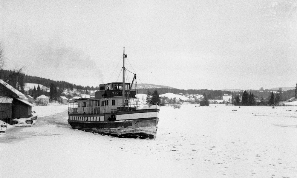 MS Victoria i vinterrute
