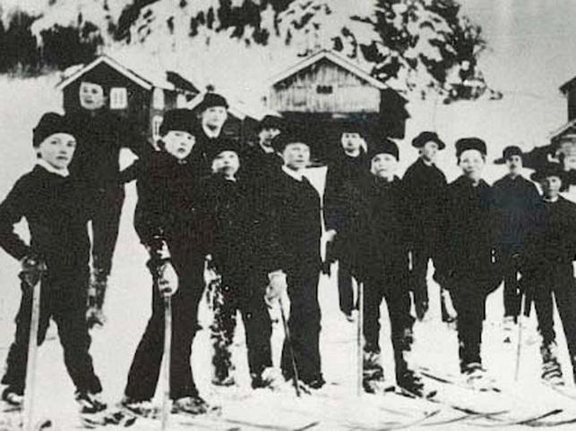 Skigutar frå Morgedal Foto: Norsk Skieventyr