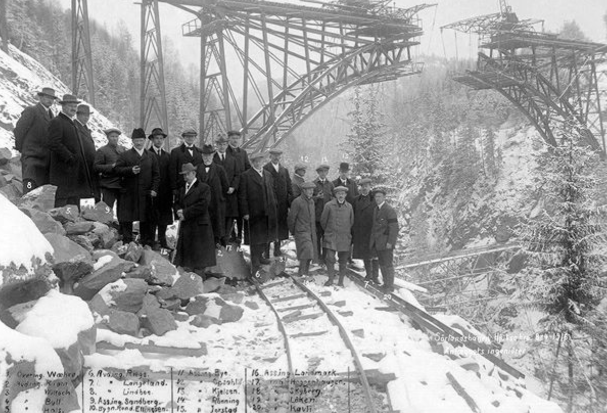 Sam Eyde kom til Aust Telemark i 1905. Foto: Norsk Industriarbeidermuseum