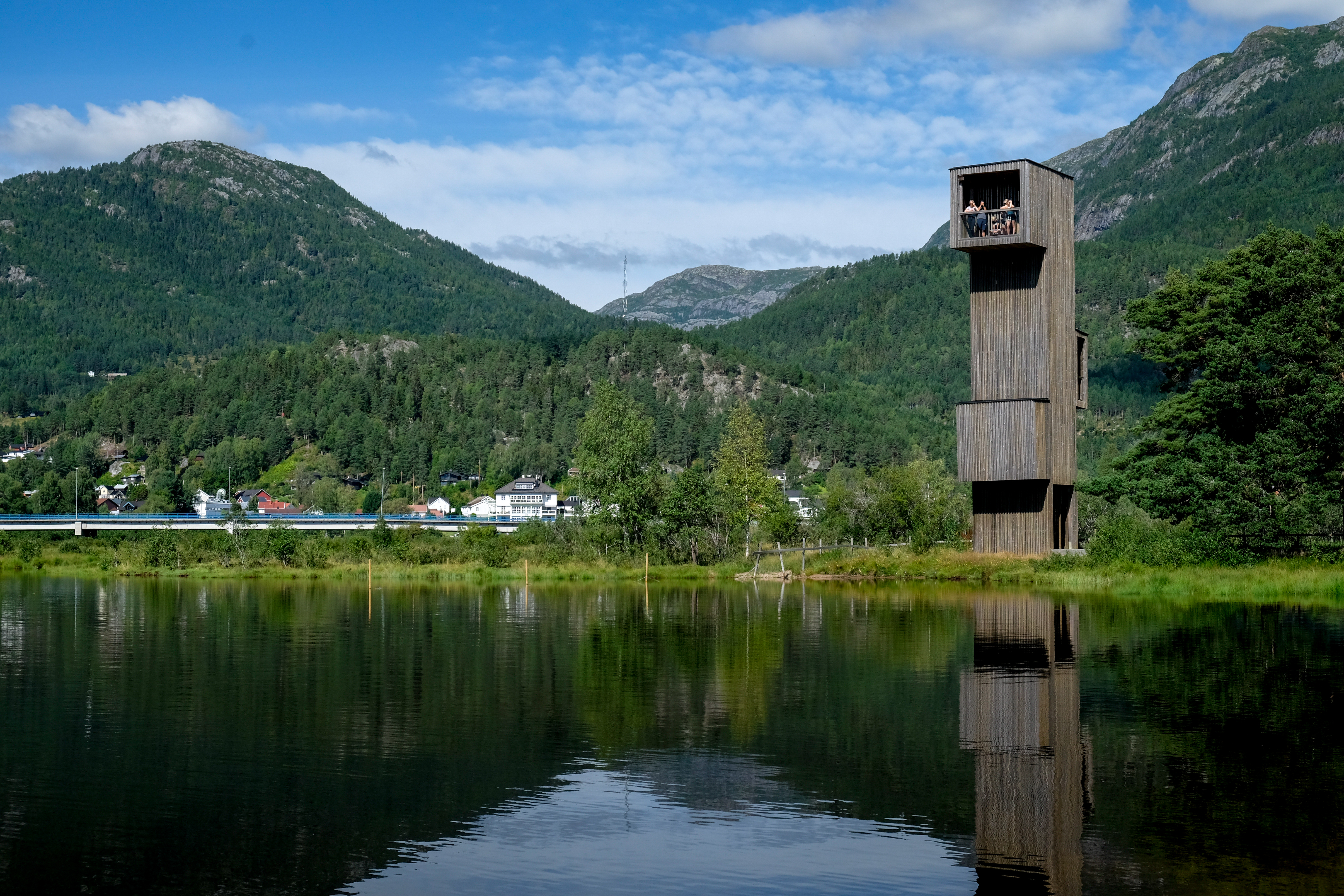 Sjøormtårnet i Seljord
