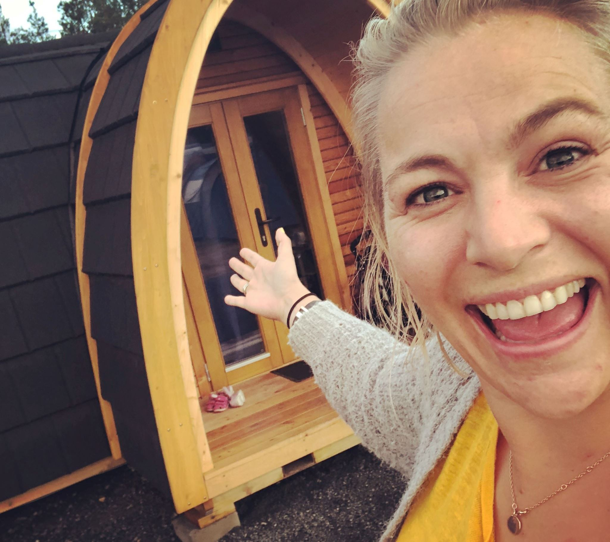 Se den fine poden på Bø Camping