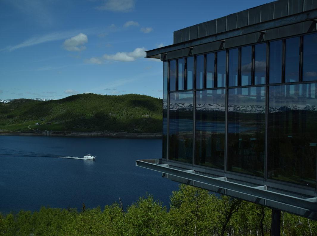 Hardangervidda Nasjonalparksenter og M/B Fjellvåken