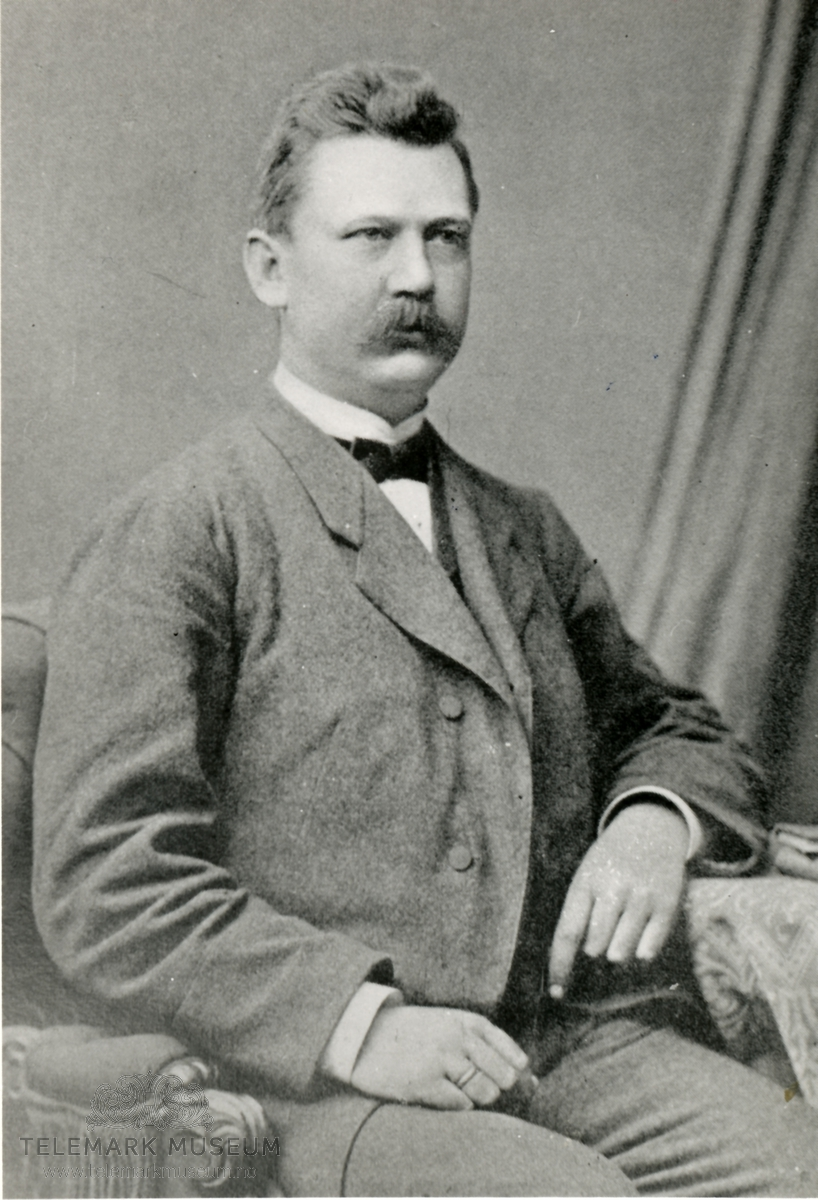 Johan Jeremiassen grunderen for PP Foto:digitalmuseum