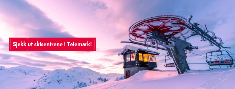 Sjekk ut skisentrene i Telemark! (2)