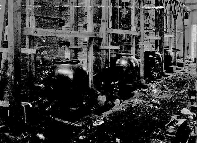 Frå kalksalpeterfabrikken