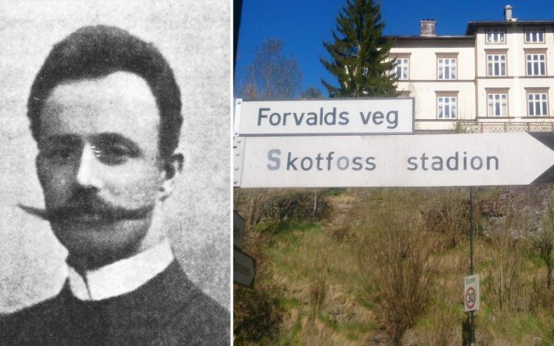 Formann Ludvig Forvald har fått sin egen gate oppkalt etter seg.  Foto: Alexander Almvik