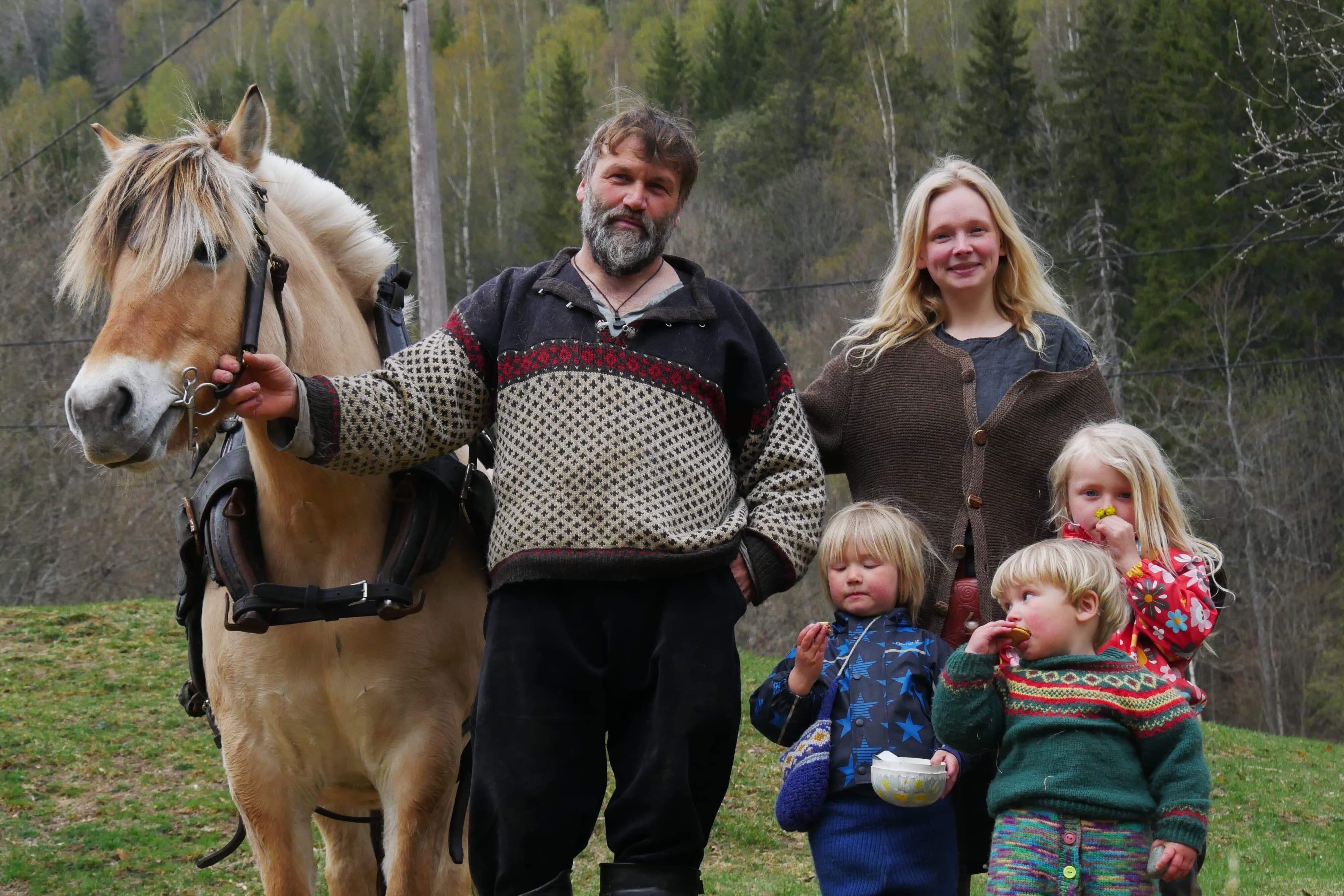 Høstberger familien