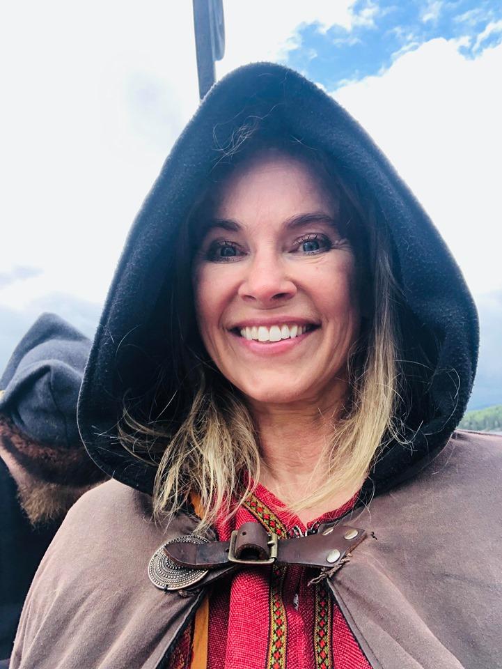Birgitte Gulla Løken, prosjektleder for Vikingveka