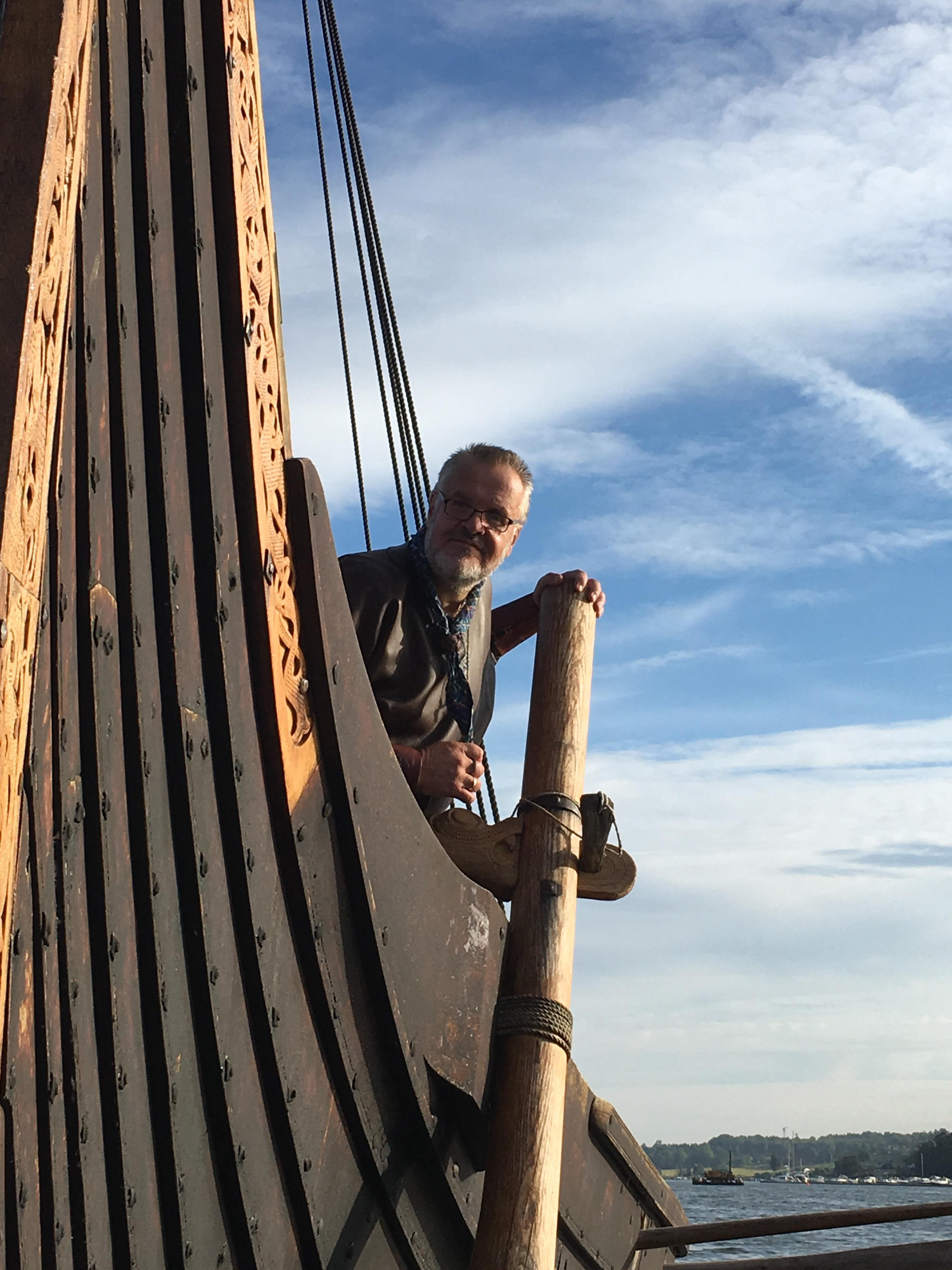 Vikingskip på Telemarkskanalen