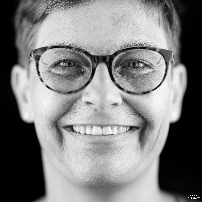 Lill Susan Rognli Vale, prosjektleder for VandreTelemark Foto: Styrk Fjærtoft