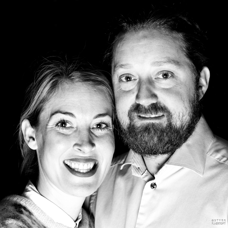 Malin og Einar Gurholdt Tuddal Høyfjellshotel Foto: Styrk Fjærtoft