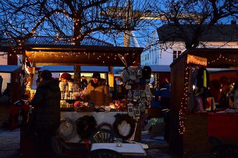 Julemarked i Langesund