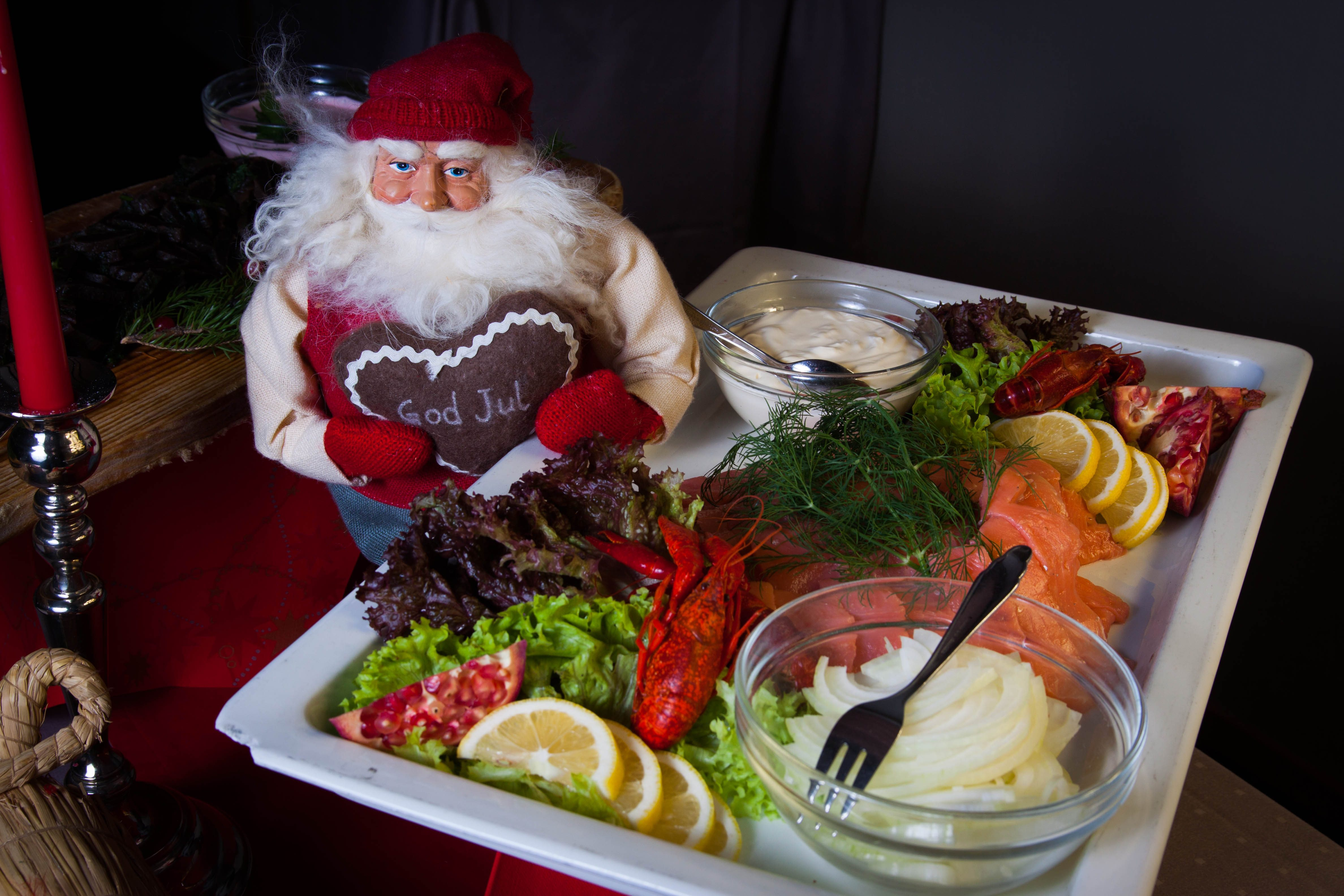 Dekket bord: La endre ordne maten for deg mens du slapper av med familien