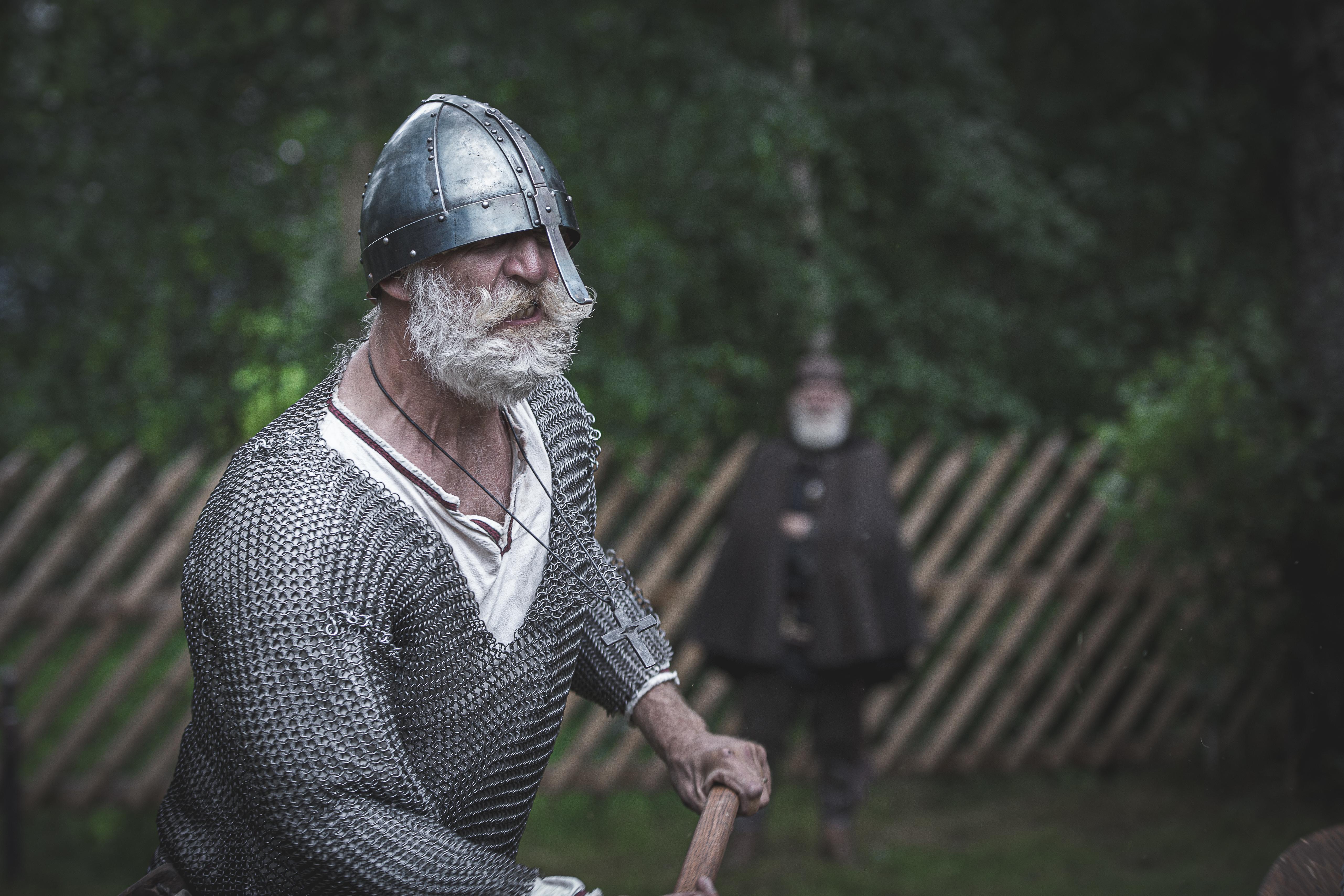 SAGAKJENDISAR: Kor mange vikingar kjenner du frå Telemark? Foto: Mona Beate Kasin