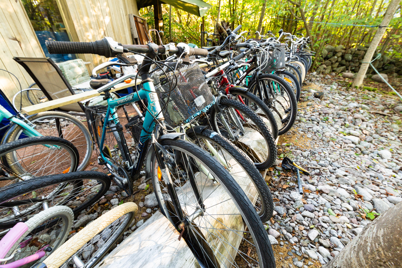 Sykkelutleie hos sykkelKnut på Jomfruland Foto: Haakon Sundbø