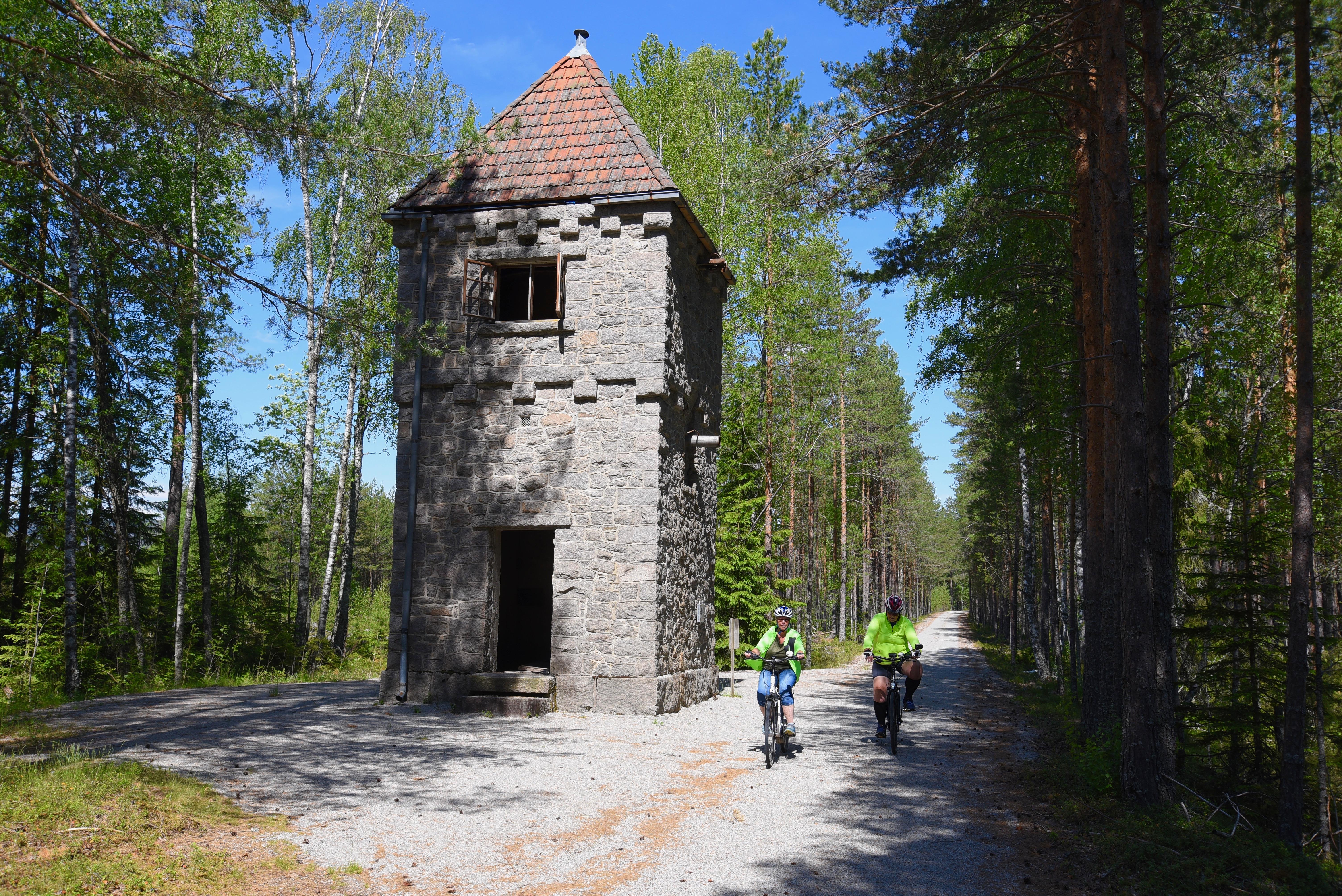 Vanntårnet ved Gaukås stasjon. Foto: Olav Jakob Tveit