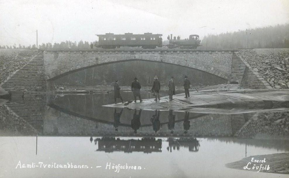 Postkortet er fra 1913, Foto: Torgeir Nordal