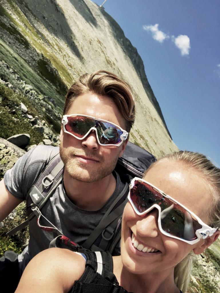 Katarina Flatland og ektemannen Harald Meling Dobloug Foto privat