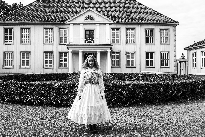 Den grå dame Foto: Telemark Museum