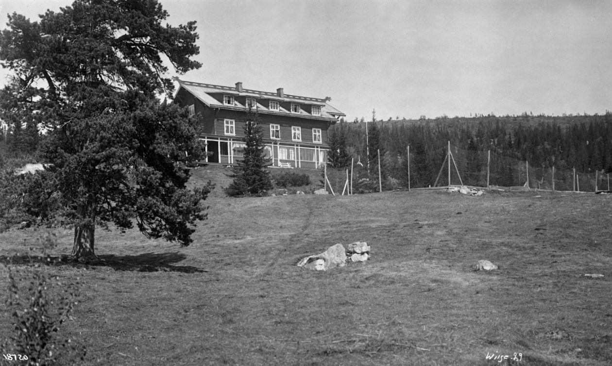 Hotellet i gamle dager Foto: Tuddal Høyfjellshotell