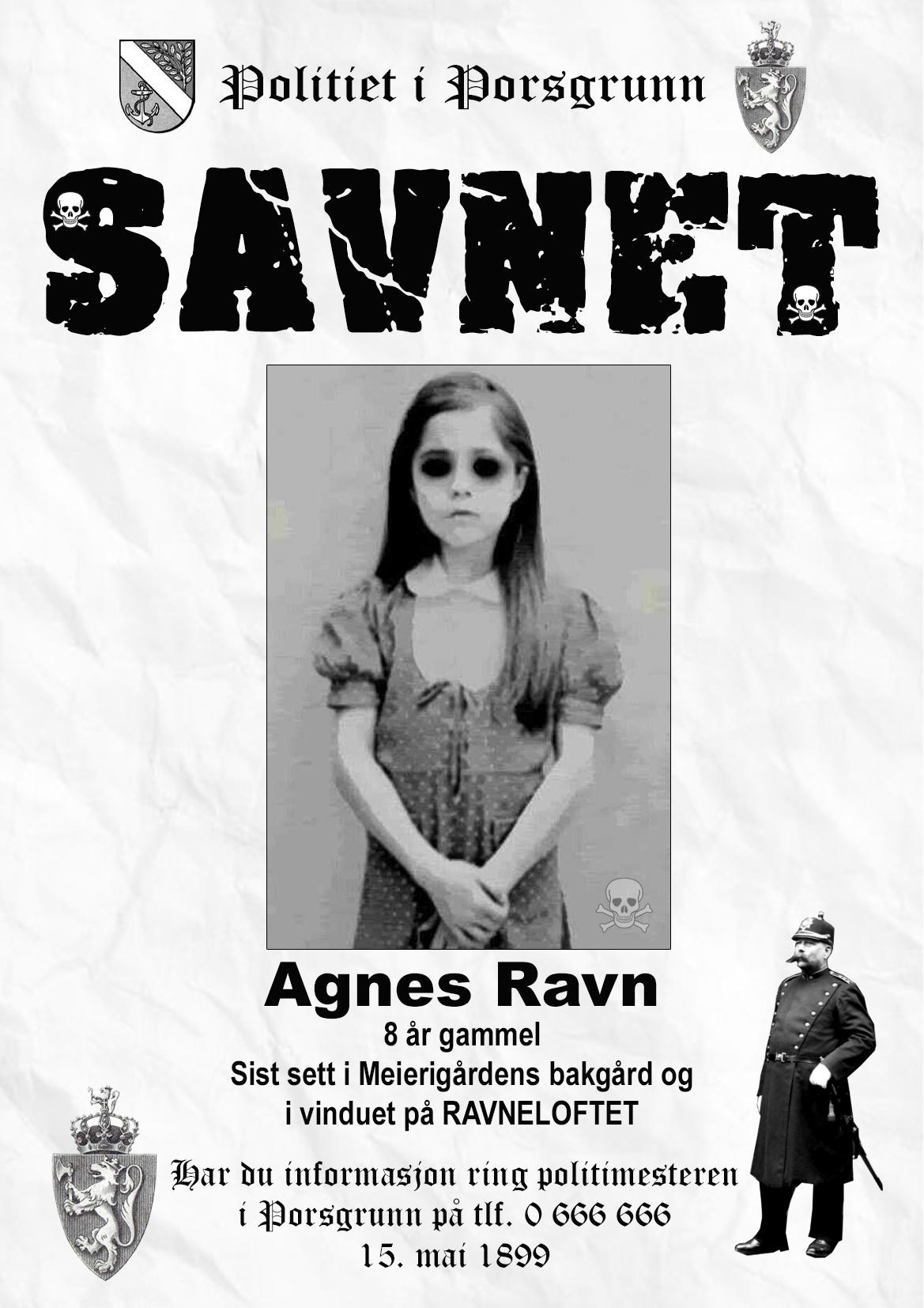 Savnet Agnes Ravn