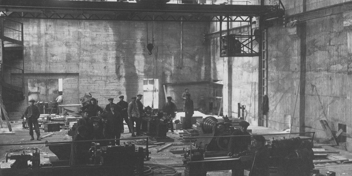 Rjukan fabrikkannlegg II Foto: NIA