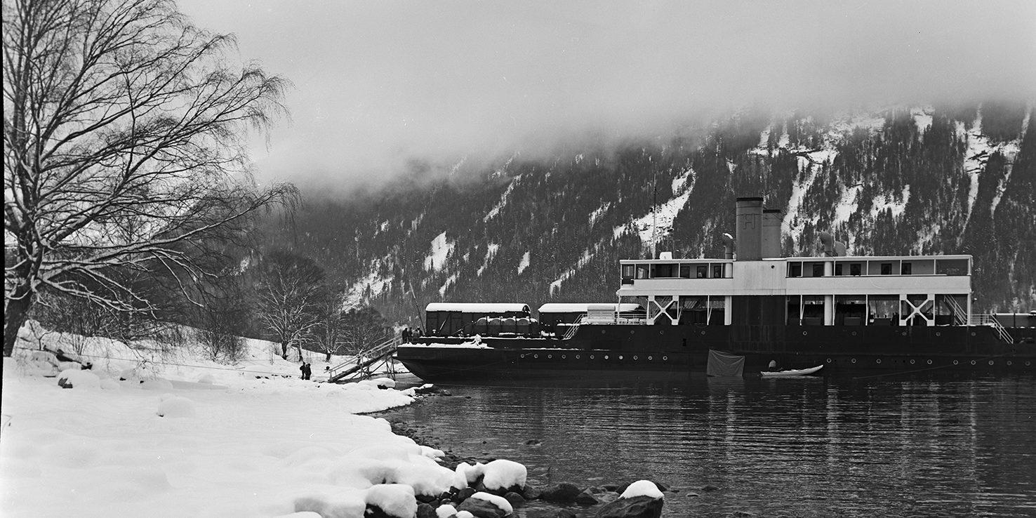 Ammonias grunnstøting og redningsaksjonen er det mest dramatiske jeg har opplevd i løpet av mine mange år med Tinnsjø-ferjene, fastslår Ivan Christoffersen. (Foto: NIA)