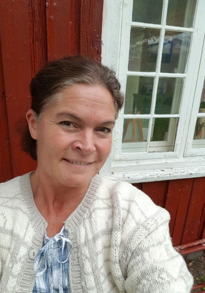Ann Cathrin H. Andersen , guide på Øvre Verket