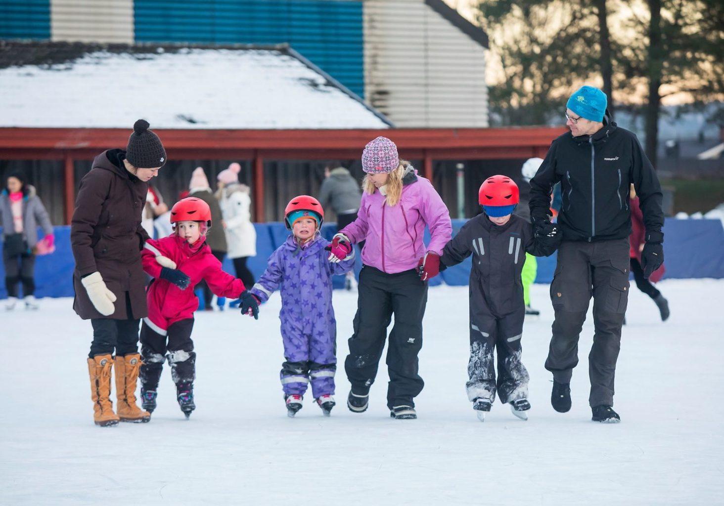 Skøytebanen i Skien fritidspark