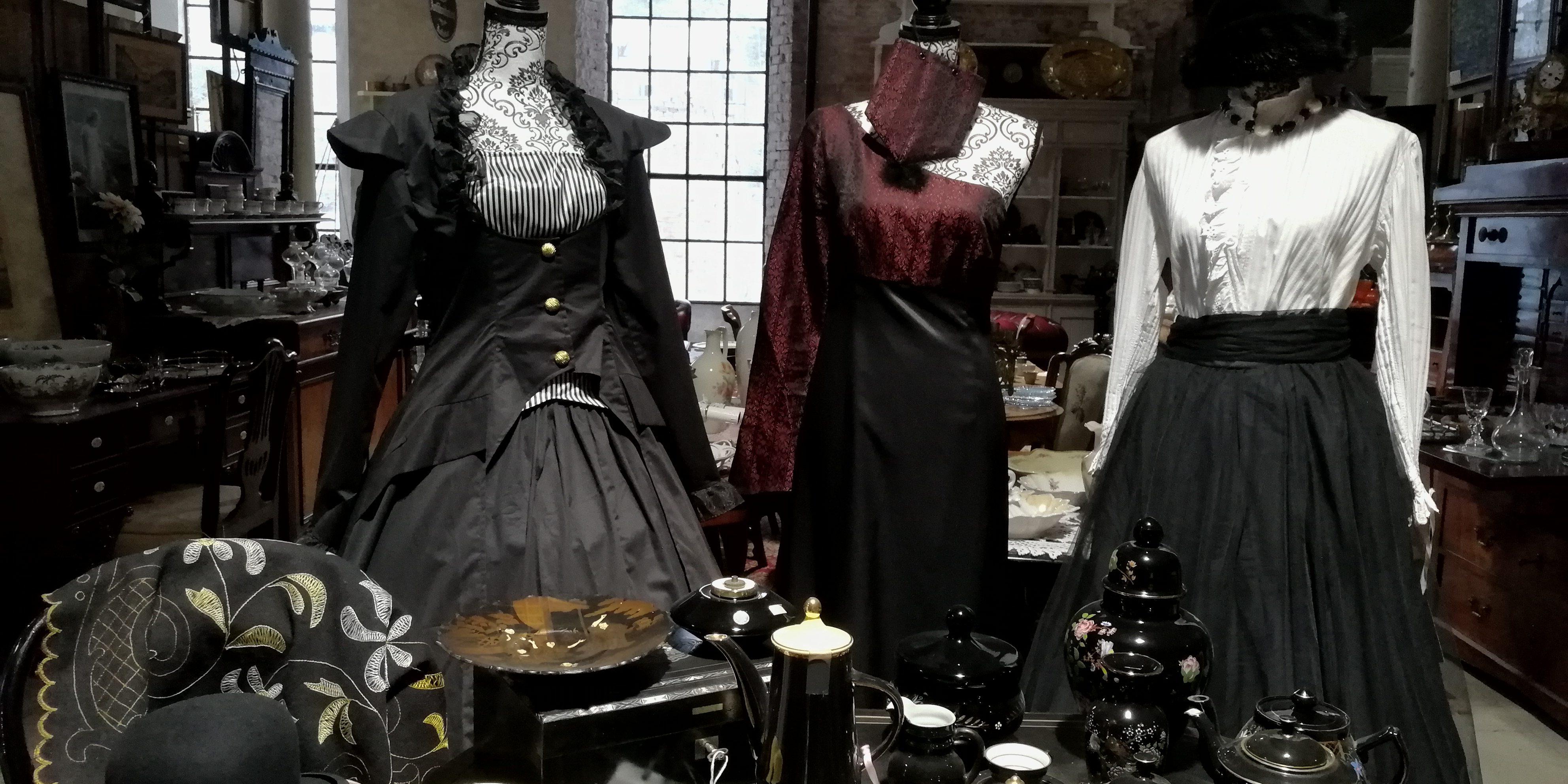 Gammeldagse kjoler