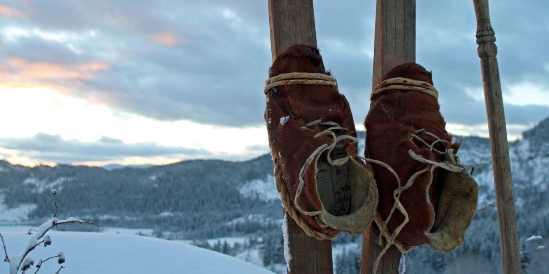 Sondre Norheims ski -originaler