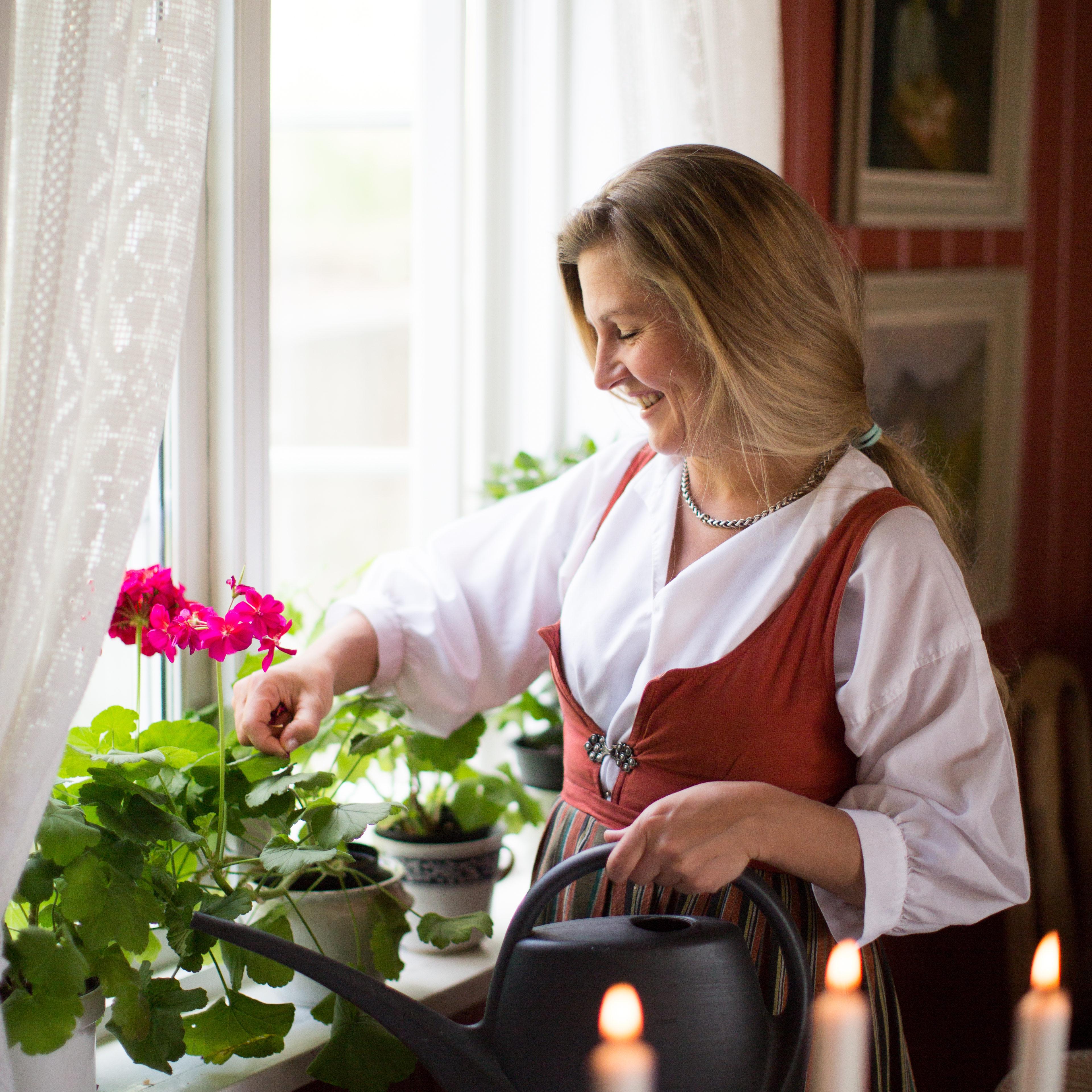 Solveig Barstad, 4. generasjon driver på Nutheim Gjestgiveri